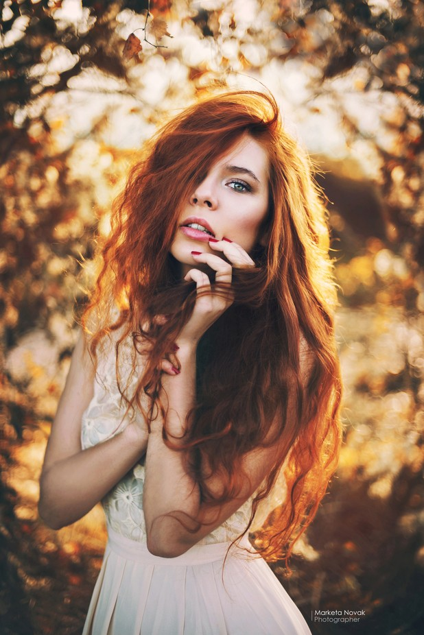 Redhead... by MarketaNovak - Elegant Moments Photo Contest