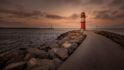 Lighthouse Warnemünde