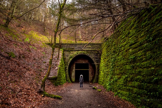 The Unknown by StephenBridger - Shooting Tunnels Photo Contest
