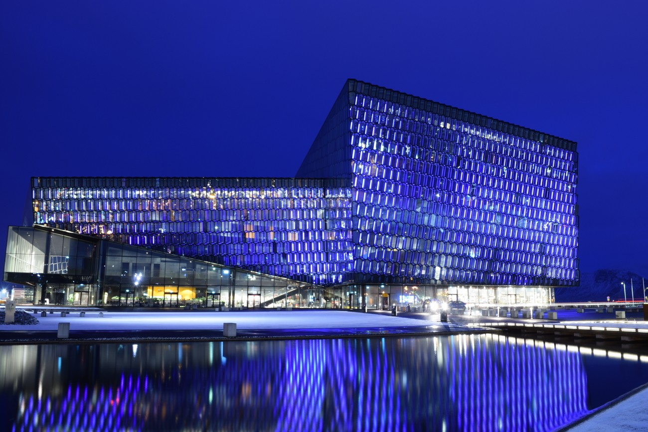 The Harpa, Concert and Conference Hall, Reykjavik, Iceland.