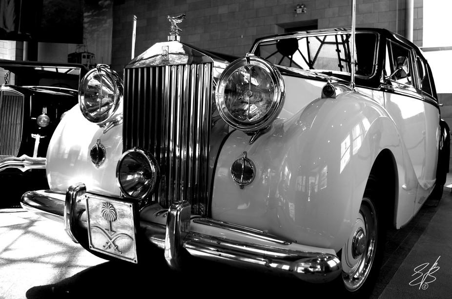 #car #rolls #oldtimer #Saudi