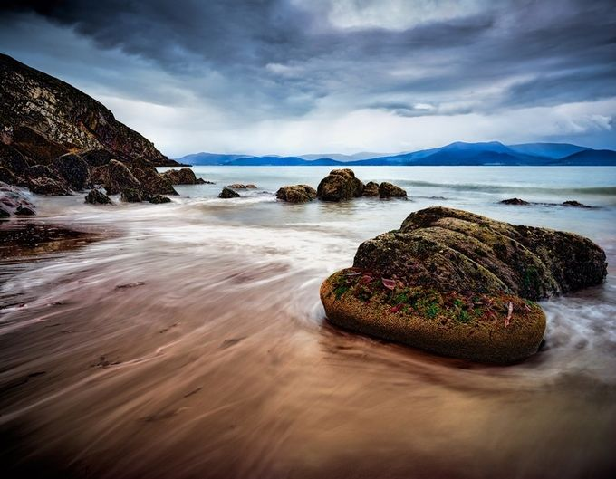 Minard Castle Beach, Dingle Peninsula by kenrhodes - Zen Photo Contest