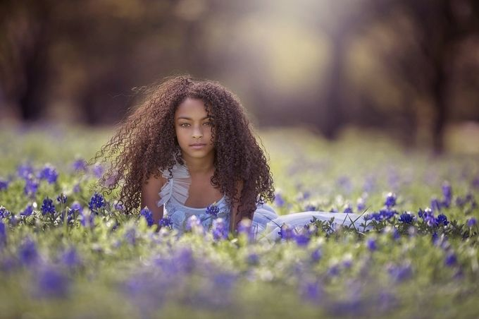 Spring time in Texas by CourtneyBlissett - Curls Photo Contest
