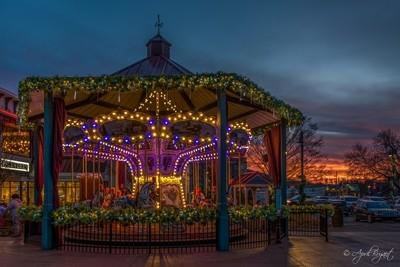 Sunset Carousel
