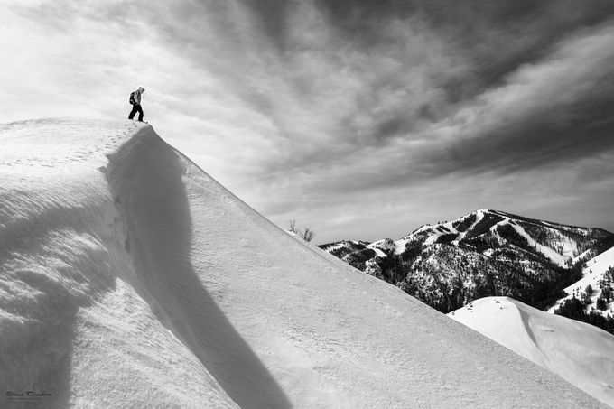 View From The Top by sdondero - Winter Sports Photo Contest