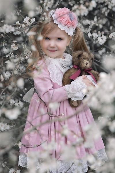 Princess and her teddy bear