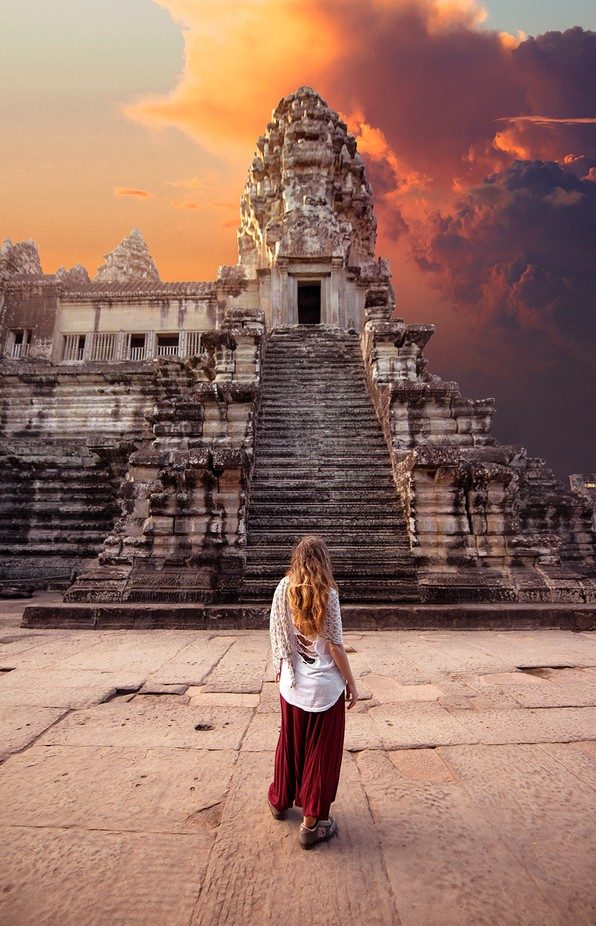Angkor Wat, Cambodia. Travel photos.