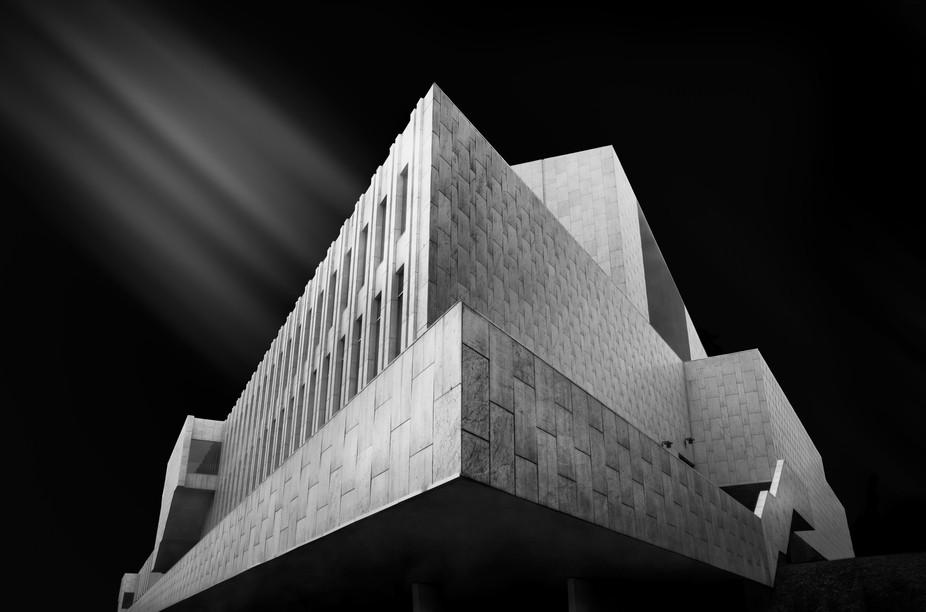Study of Alvar Aalto's magnificent Finlandia Hall in Helsinki.