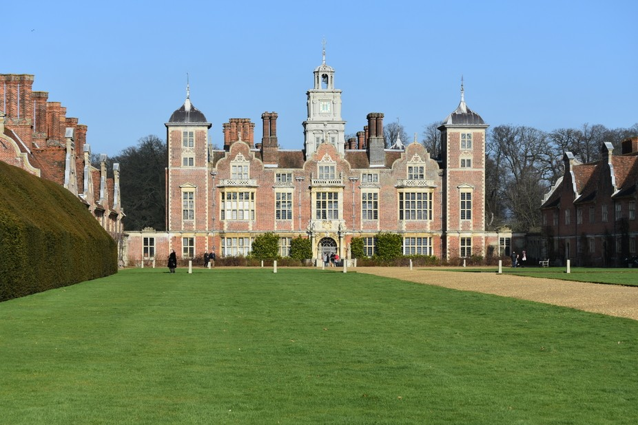 This is Blickling Hall, a country estate in Norfolk UK
