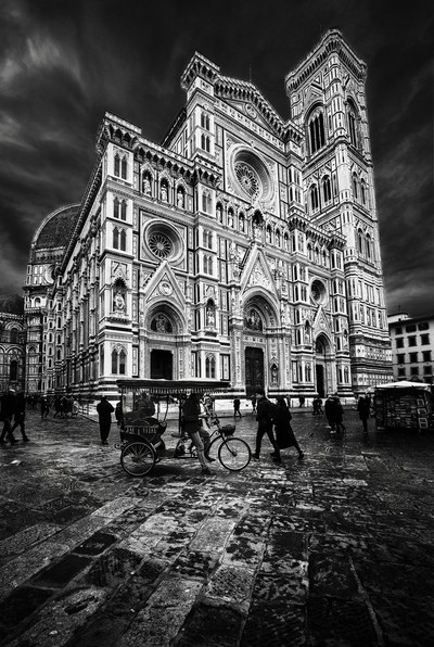 The cathedral of Florence