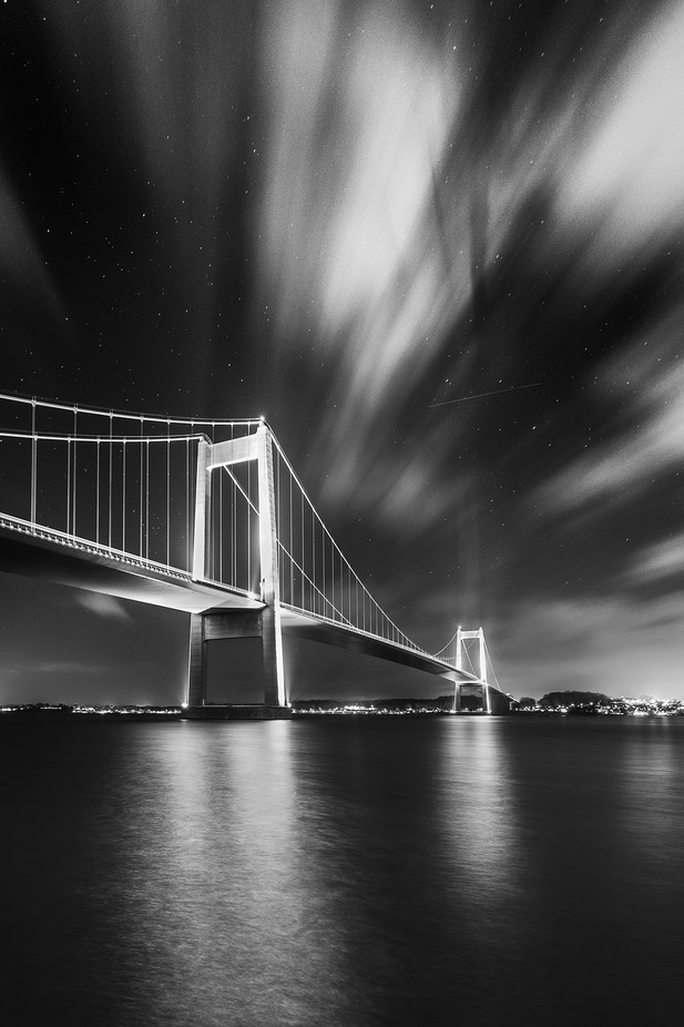 Night Crossing by Brian_Lichtenstein - The Moving Clouds Photo Contest