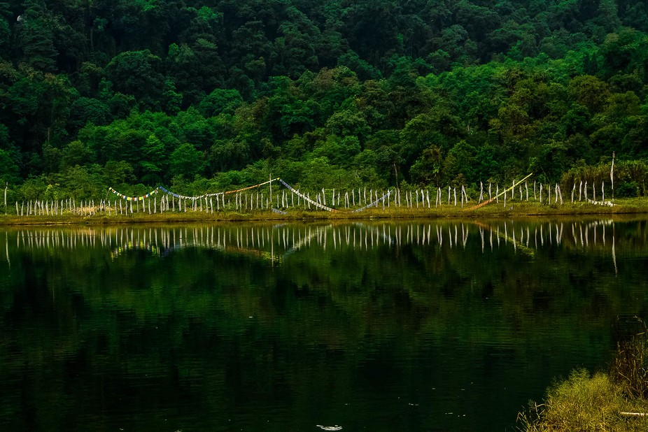 Khecheopalri lake, North Sikkim, India! A place of serenity, calm and peace!