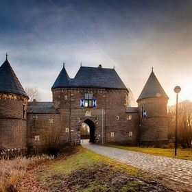 "This is ""Burg Vondern"" in Oberhausen, Germany ...not so far from my home."