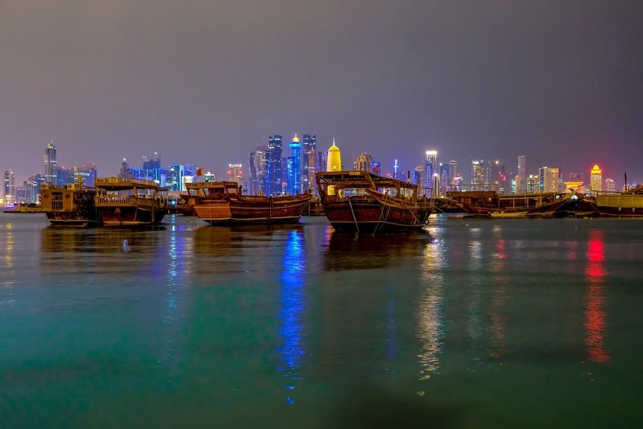 Skyline, Doha Qatar