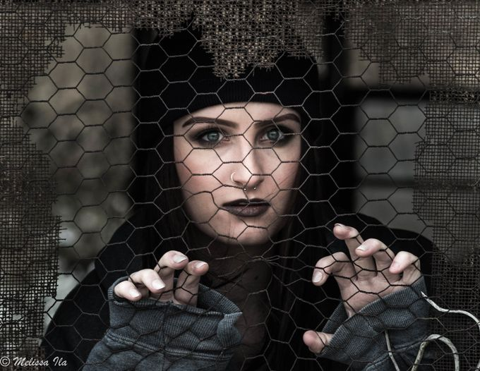 Trapped by melissa_ila - Portraits With Depth Photo Contest