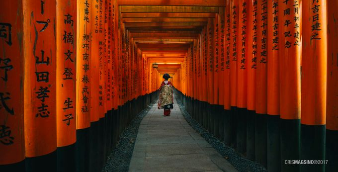 Red kimono by crismagsino - Cultures of the World Photo Contest