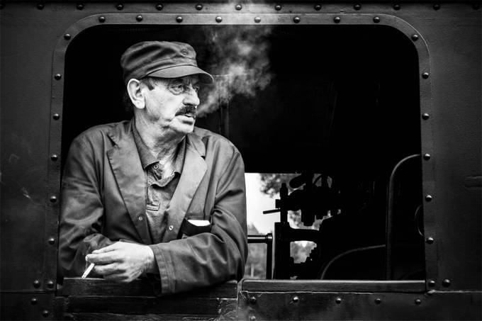 The Engine Driver by catalinmos - Creative Reality Photo Contest