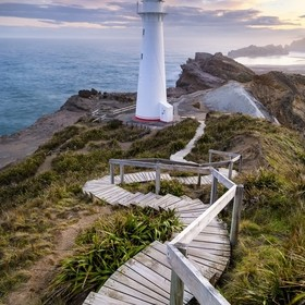 One of my main inspirations for visiting New Zealand, as if you really need one, was a photo from this perspective that I ran across on another p...