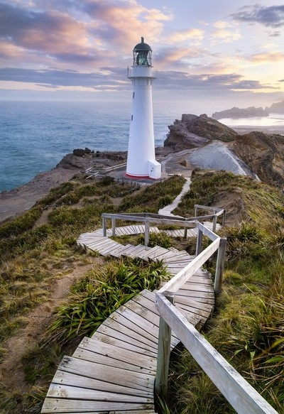 Follow the Light - Castle Point Lighthouse, New Zealand