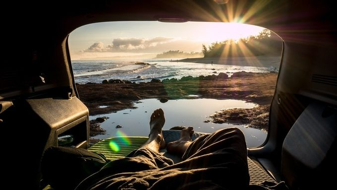 Vanlife by corbinianbookmountain - Summer Road Trip Photo Contest