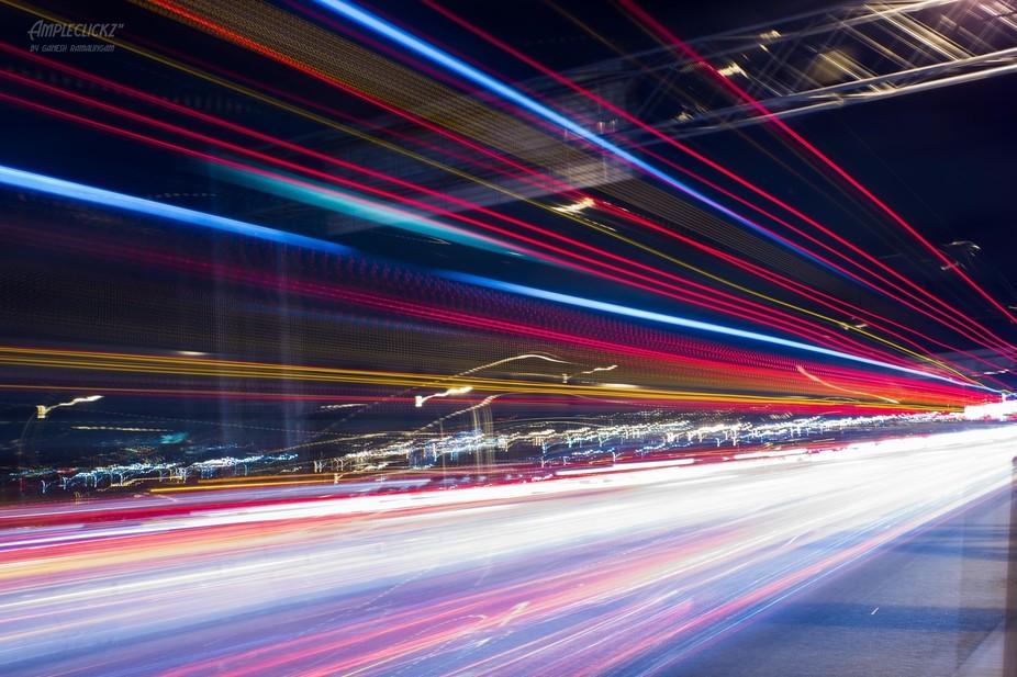 A Long Trailer Passing through the Queensborough Bridge - Vancouver
