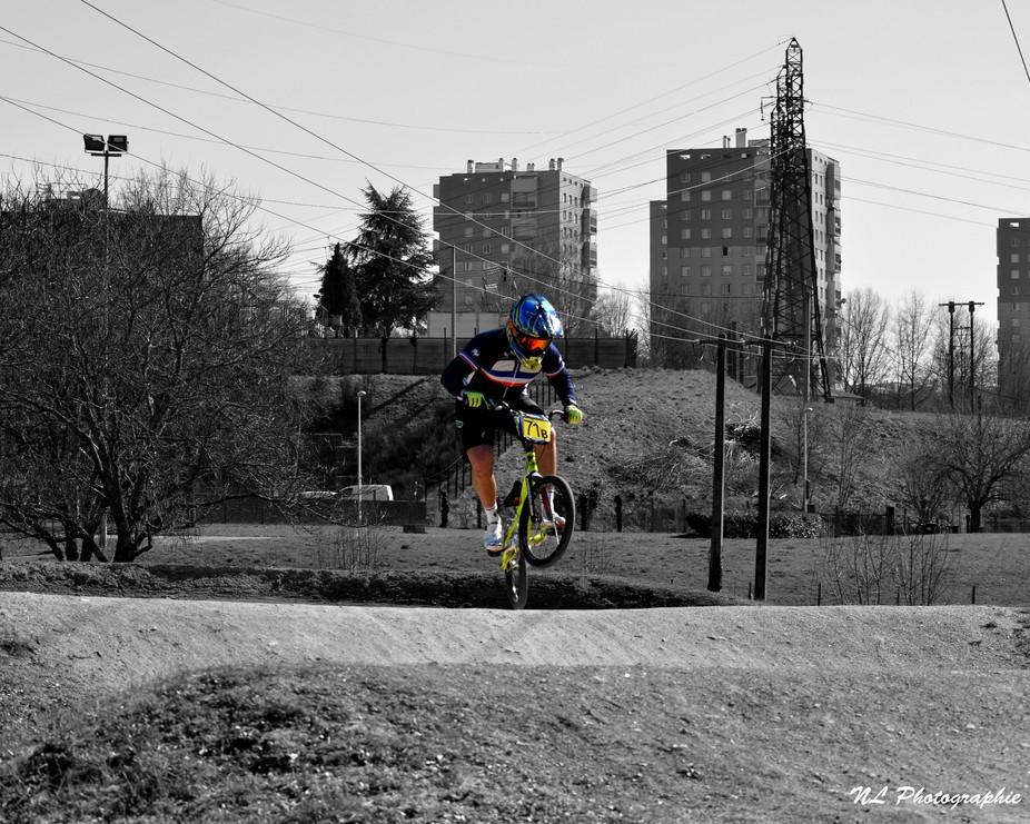 saut de BMX Race