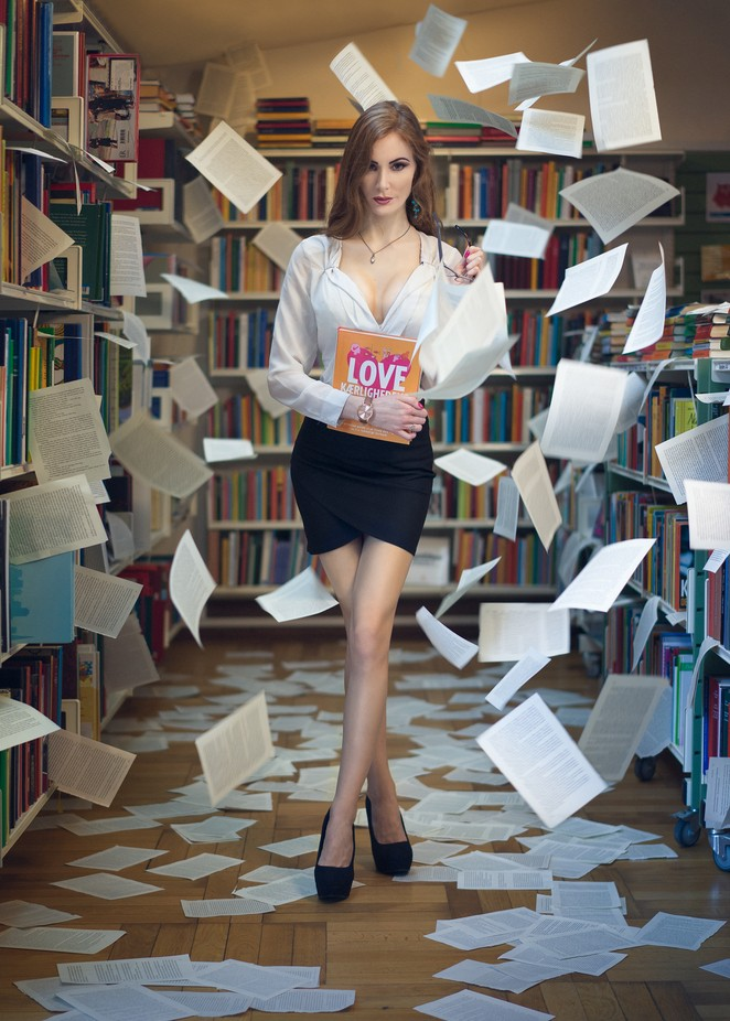 Love reading by nikolaihessenschmidt - Letters And Words Photo Contest