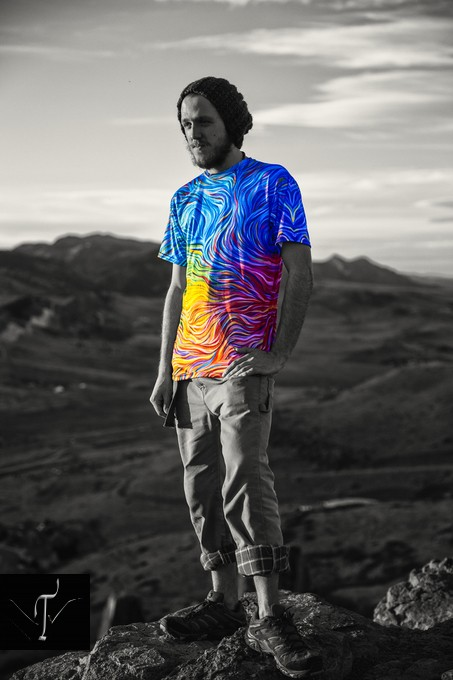 Another cool shot for some promotional photography for AcidMath.