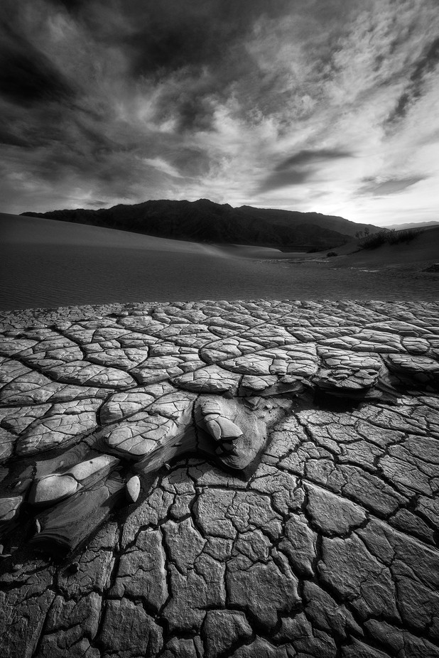 Fractured by Davemce - Black And White Landscapes Photo Contest