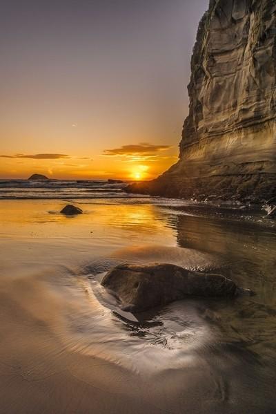 Muriwai Beach Sunset