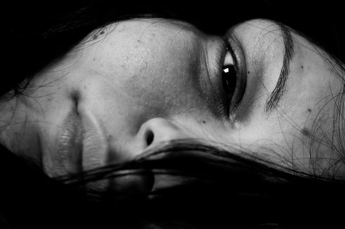 by PetkoM - Black And White Female Portraits Photo Contest