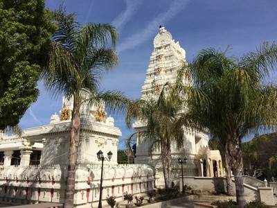 Hindu Temple in Malibu Canyon, California
