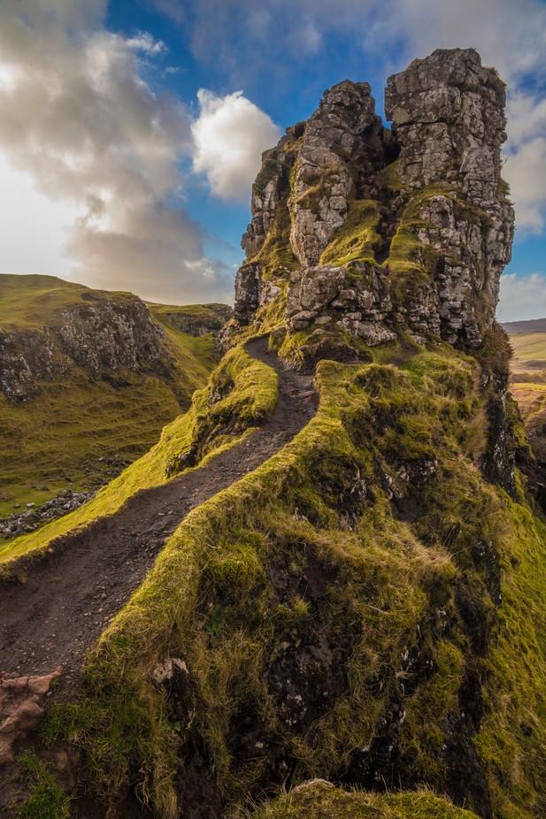 Castle Ewen of Fairy Glen, Skye  by GuacInk - Large Photo Contest