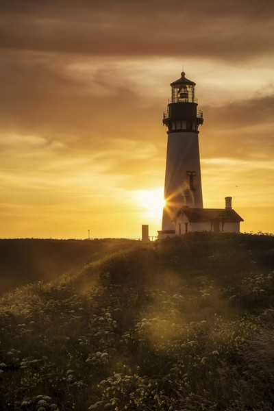 Daylight at Yaquina Head Lighthouse