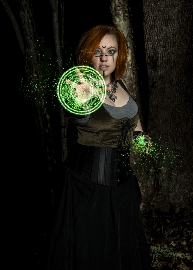 Arcana - Druid (5) by FightGuyPhoto - Halloween Photo Contest 2017
