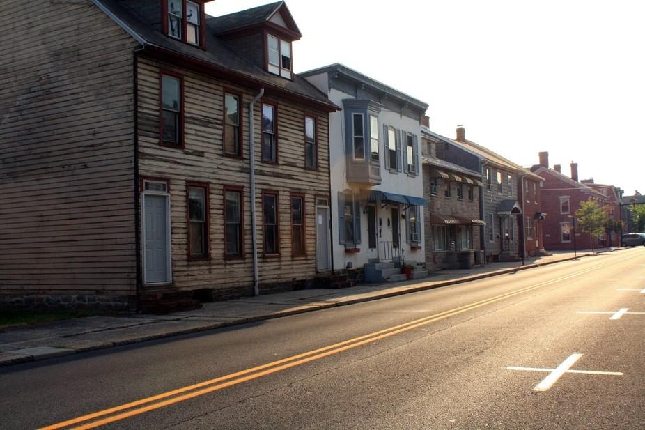 Houses downtown Gettysburg