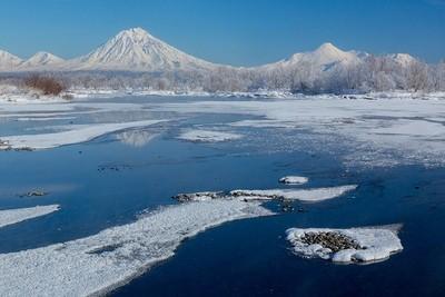 Winter volcanoes