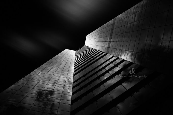 Miami Sky I by dezkarpatiphotography - Tall Structures Photo Contest
