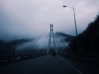 Mountain bridge