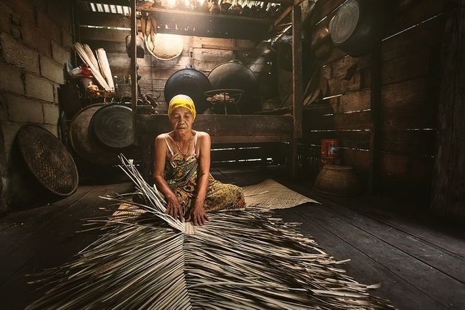 craftsman mats by yusriharisandi - Cultures of the World Photo Contest