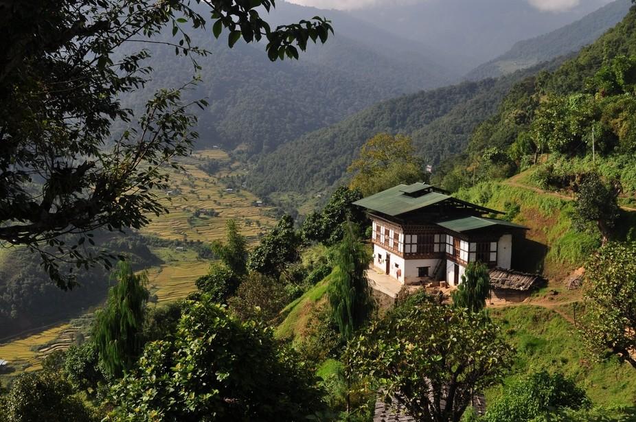A cabin in Bhutan
