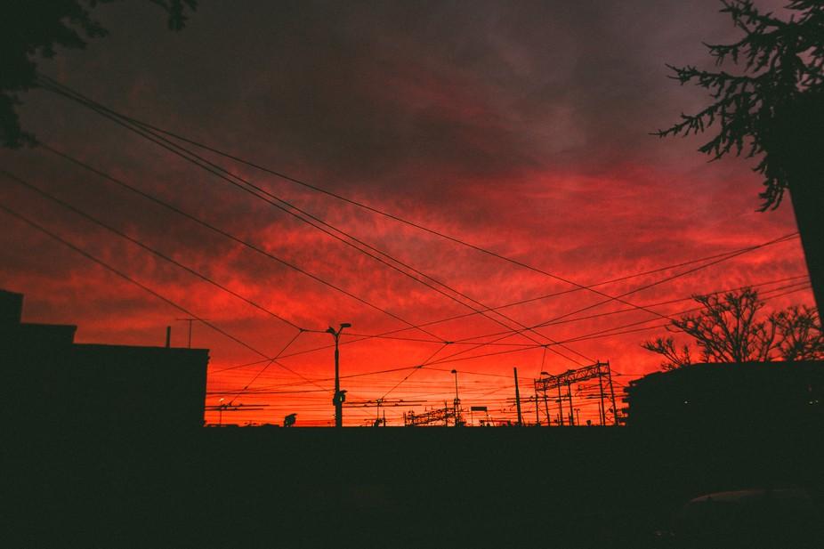 Hai mai visto un'alba cosi?