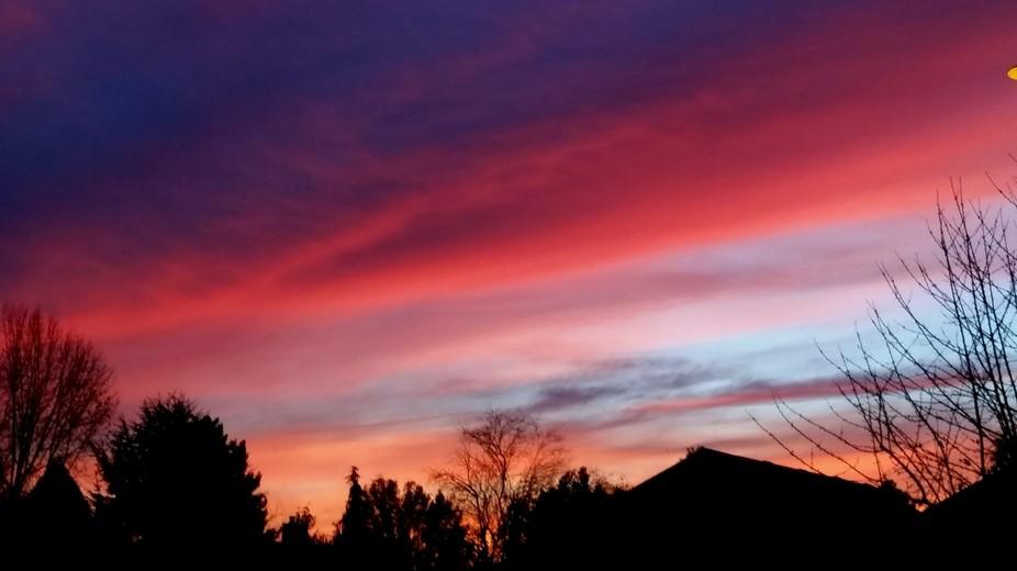 Sunset Battle Ground Wa.