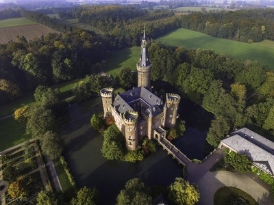Schloss Moyland Drone 1