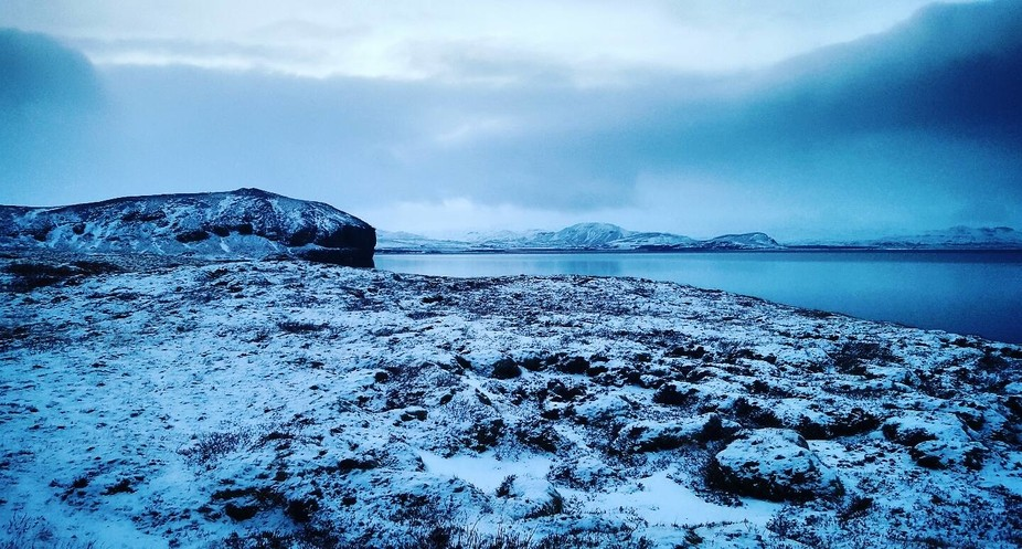 Taken in Thingvellir National Park on the Golden Circle route in Iceland during Winter 2017