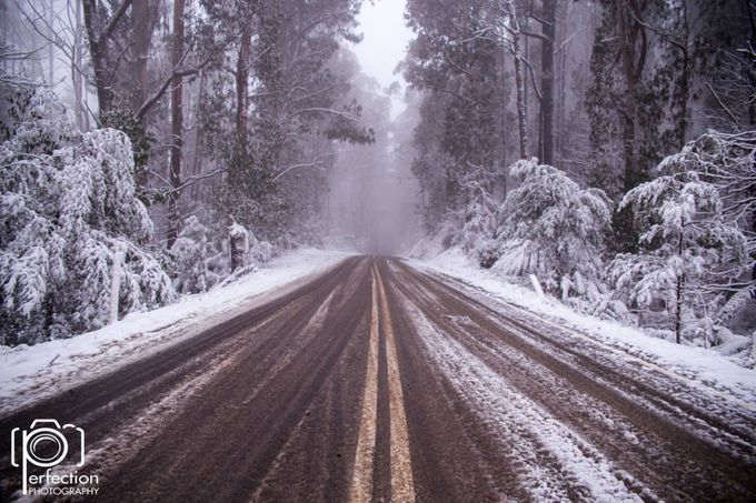 Mt matlock winter snow victorias high country. Victoria Australia.  by stephenpretty - A Road Trip Photo Contest