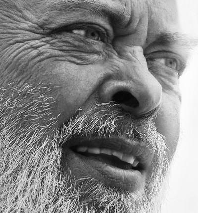 Close up portrait of a middle-aged man 2