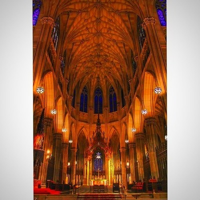 What St. Patrick's Cathedral actually looks like #stpatrickscathedral #manhattan #newyork #newyork_instagram #picoftheday #pictureperfect #allinsync #perspective #canonusa #dslrofficial #canonphotography #canon700D #t5 #canonbringit #aisle #edit #ins