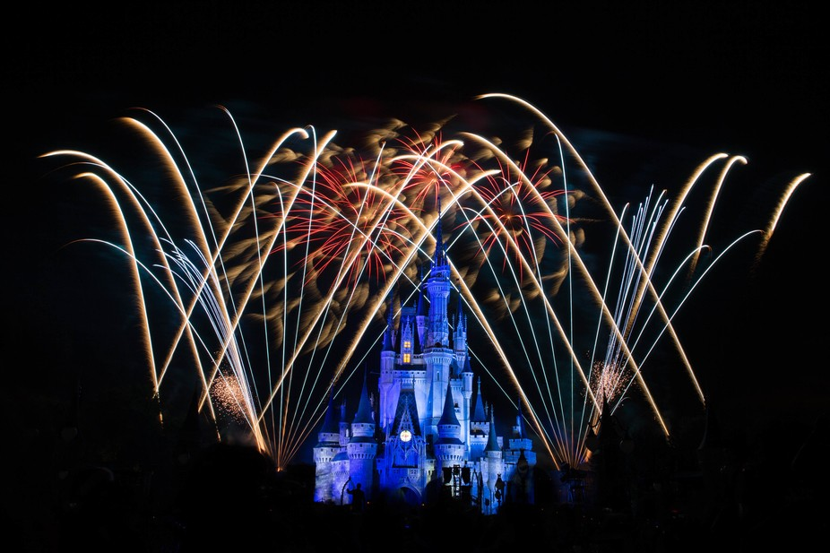 The fireworks of  Halloween
