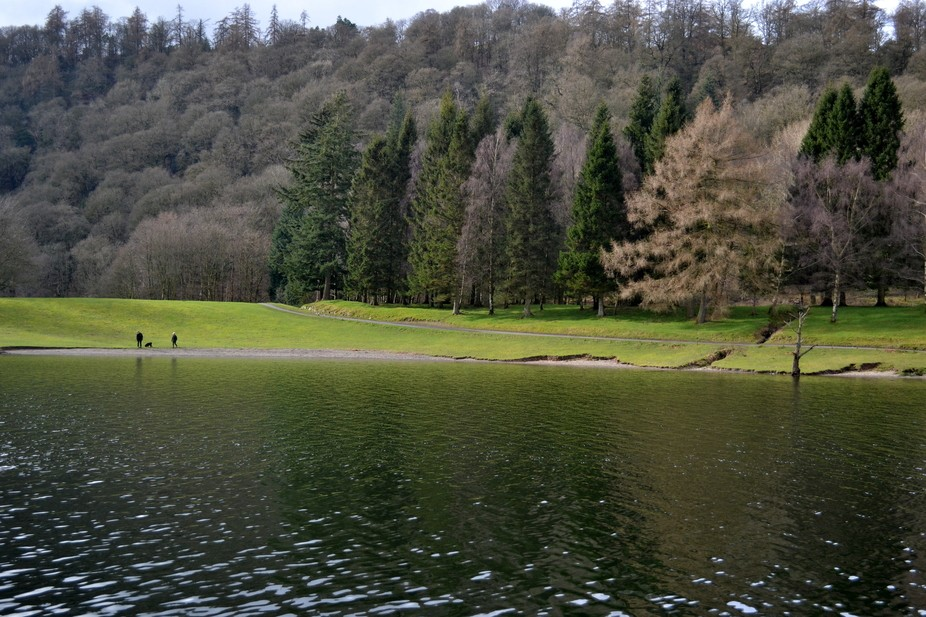 Lake District, Lake Windermere, England March 2017